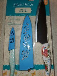 Pioneer Woman Sweet Rose Knife Set