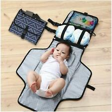 Portable Diaper Changing Pad - Clutch Lightweight Travel Station Kit For Baby