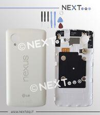 BACK COVER SCOCCA POSTERIORE LG NEXUS 5 BIANCO COPRIBATTERIA + kit riparazione