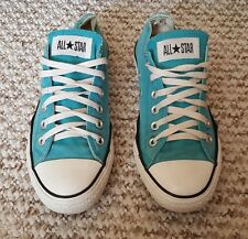 LADIES CONVERSE ALL STARS SIZE 6 TEAL  LACE UP SUMMER PUMPS TRAINERS