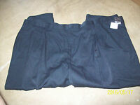 MENS KINGS COURT NWT PLEATED FRONT CASUAL DRESS JEANS SIZE 58 X 28 PANTS #145