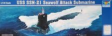 TRUMPETER® 05904 USS SSN-24 Seawolf Attack Submarine in 1:144
