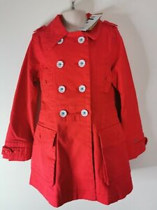 Girls Age 8 Red Coat