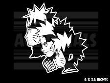 Naruto - Through the years - Japanese Anime Vinyl decal sticker