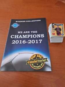 We are the champions album plus whole set of stickers (Messi,Cristiano,Neymar..)