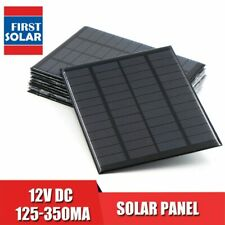 Solar Panel 12V Mini Solar System DIY For Battery Cell Phone Chargers Portable