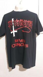 Possessed seven churches T shirt thrash death metal slayer kreator destruction