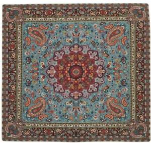 Luxury Table Cloth Paisley Quality Persian Handmade Termeh Silk Runner Square UK
