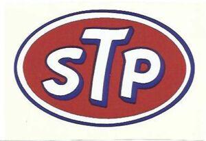 STP Old style oval- Retro Sticker
