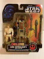 96 STAR WARS Deluxe Luke Skywalker's Desert Sport Skiff NIB