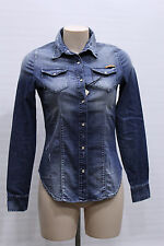 FIFTY FOUR camicia Jeans donna KREIA Tg L
