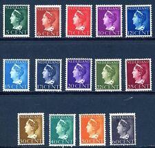 Nederland 332-342  Koningin  Wilhelmina 1940-1946  luxe postfris