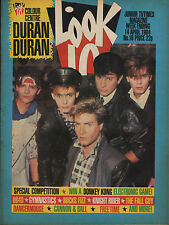 Look-In Magazine 14 April 1984      Duran Duran     Hayley Price     UB40