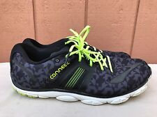 EUC Brooks Pure Connect 4 Mens SneakerS US 12.5 Black Green White Tennis Shoes