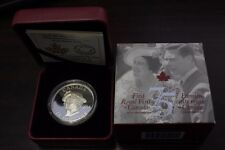 2014 Canada $25 fine silver coin - 75TH Anniversary of the First Royal Visit