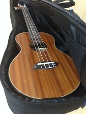 Tenor Ukulele Leaf L200 All Mahogany,Gloss Finish+Deluxe Blue Padded Soft Case