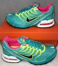 Nike Air Max Womens Size 5.5 Torch 4 Running Training Shoes Teal Volt Pink New