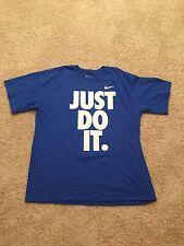 Men's Nike University Of Kentucky Wildcats Just Do It T-Shirt Size XL