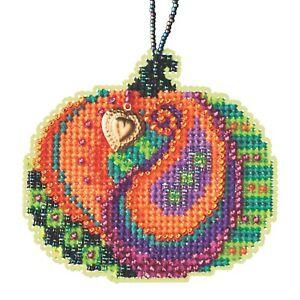 Persian Pumpkin Cross Stitch Kit Mill Hill 2020 Ornament MH162026