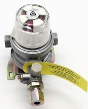 Cavagna Automatic Changeover Gas Bulkhead Regulator 10mm Caravan Motorhome