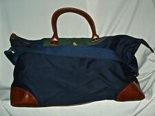 New Ralph Lauren Polo ~  Canvas Travel Gym Duffel Bag with Logo New