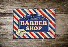 Barber Shop Letrero metal Decor Decoración De Pared Placas 346