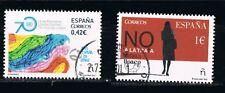 Año 2015. Sello España. Edifil 5002 - 5004. Usado matasellos de favor.