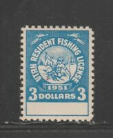 USA Cinderella Fiscal Revenue stamp  1-1-21 - mint gum