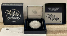More details for american eagle (us mint) end of world war ii 75th anniversary silver medal bnib!