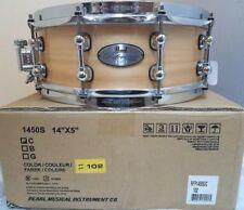 pearl size 14 inch snare drums for sale ebay. Black Bedroom Furniture Sets. Home Design Ideas