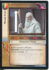 Lord Of The Rings Foil CCG Card RotK 7.C52 Wizard Staff