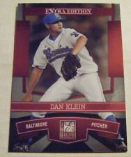 DAN KLEIN 2010 UCLA BRUINS CWS Donruss Elite RC baseball card ORIOLES SERVITE 35