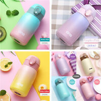 220/260/320ML Mini Stainless Steel Vacuum Flask Thermos Travel Water Mug Cup 1pc