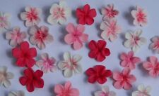 25 edible CHERRY BLOSSOMS cake decorations CUPCAKE TOPPER wedding christening
