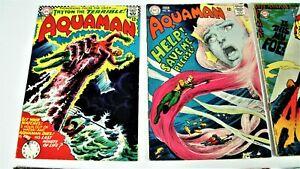Aquaman-Silver/Bronze-8 Book Lot