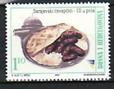 Bosnia & Herzegovina (Muslim Adm) Sc 416 NH ISSUE of 2002 - Traditional food
