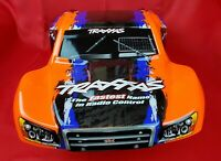 Traxxas 1/10 Slash Orange Blue Black Painted Body 4wd 2wd 4x4 SCT VXL XL5 Shell
