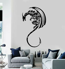 Vinyl Wall Decal Dragon Mythological Animal Claws Tail Stickers Mural (g386)