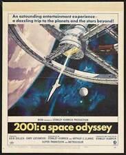 2001: A SPACE ODYSSEY Movie POSTER 27x40 N Keir Dullea Gary Lockwood William
