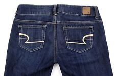 AMERICAN EAGLE Artist Women's 2 Short S Blue Faded Denim Boot Cut Stretch Jeans
