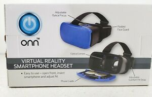 ONN VR Virtual Reality Smartphone Headset -Blue - BRAND NEW