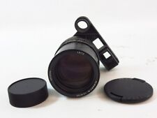LEICA ELMARIT-M 1:2.8/135mm EYES LENS f=135mm BLACK LENS CAPS M3 M9 LEITZ
