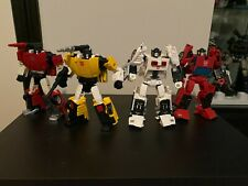 Transformers Generations Selects Lot Cordon Spinout Tigertrack Sideswipe