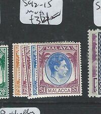 MALAYA MALACCA  (P0210B) KGVI SG 12-15  MOG