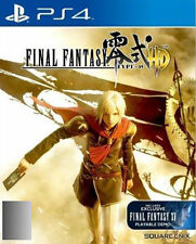 Final Fantasy Type-0 HD (Sony PlayStation 4, 2015)