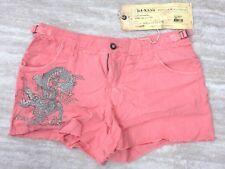 NEW Da Nang Women's Summer Shorts Detail Front Dragon CRAYON RSS17901160 LARGE L