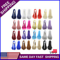 80CM Fashion Womens Wigs Beautiful Long Straight Anime Cosplay Party Wig