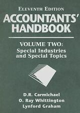 Accountants' Handbook, Special Industries and Special Topics (Accounta-ExLibrary