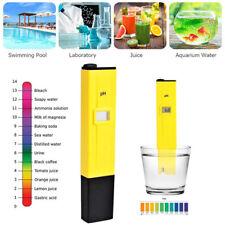 Digital LCD PH Wert Messgerät Wasser Tester Meter Prüfer für Aquarium Pool Teich