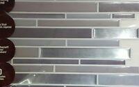 3-D Mosaic Decorative Self Adhesive Wall Tile Peel And Stick Backsplash Kitchen